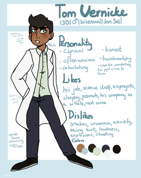 OC Reference: Tom by aronora