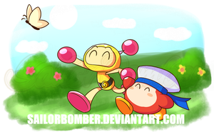 Com for ProduccionesM121 - Yellow and Waddle Doo by SailorBomber