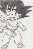 Kid Goku by PaoloNormalState