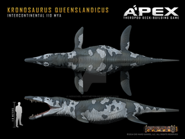 Kronosaurus queenslandicus by Herschel-Hoffmeyer