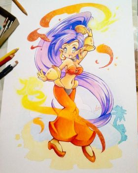 Shantae by DestinySwordArt