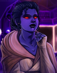 The Chiss Jedi by Chocolate-Pyrus