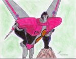 Starscream  animated  new drawing by ailgara