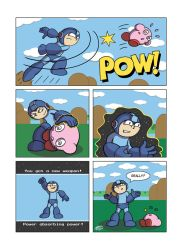 Despondent Mega Man - In The Pink by JesseDuRona