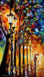 The Soul Of The Park by Leonid Afremov