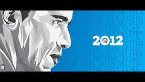 Obama '12 by SeedofSmiley