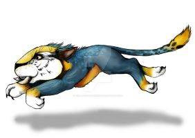 The croods chunky by wolffuchs on deviantart chunky the death cat by the lady maverick voltagebd Choice Image