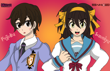 TWO Haruhi by jmaster1114