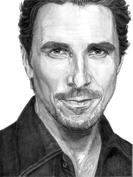 Christian Bale as Himself by khinson