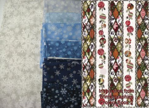 Snowflake Quilt Plans by Verdaera