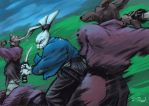Usagi Yojimbo by yumereves
