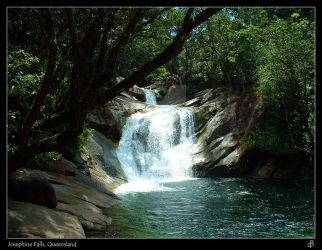 Josephine Falls, Queensland by d---b