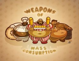 Weapons of Mass Consumption by beefyblimps