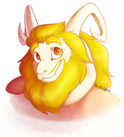 Asgore by heartlessspade
