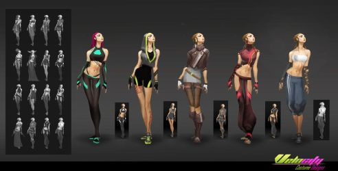 Costume Designs - Velocity by EsbenLash