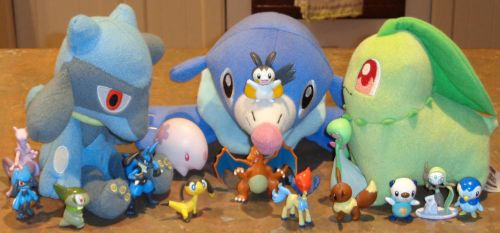 Playing With Pokemon Figures by CheerBearsFan