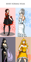 Rwby Formal Wear by mboymanuel