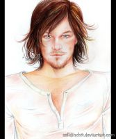 Norman Reedus by zelldinchit