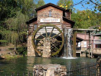 Dollywood Grist Mill by Peridoebelle
