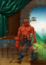 hellboy by DESEO-ONE