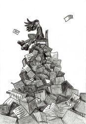 The Great Waster of Paper by Drzewobojczyni