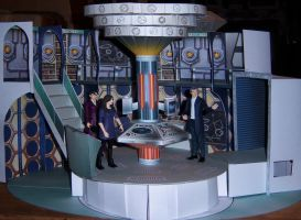 Series 9 TARDIS Control Room by MisterBill82