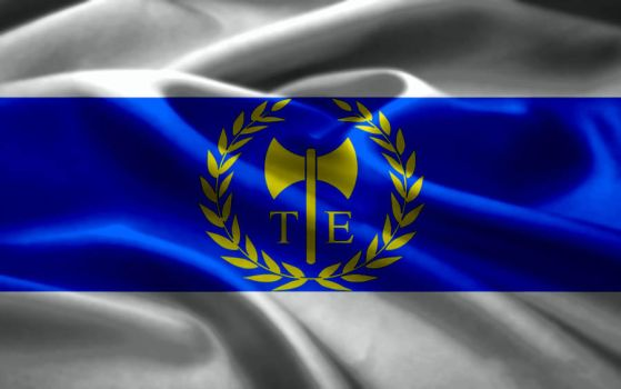 Flag of Autonomous Tenedos by Hellenicfighter