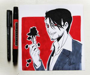 Darkiplier by miaow