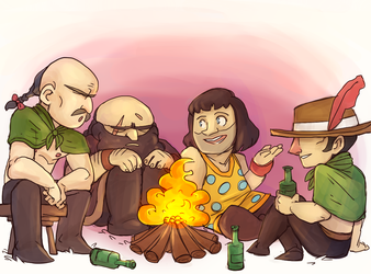 lisa the painful: brad and friends by Blisterkrieg
