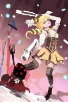 Mami Tomoe vs Charlotte by WindHydra