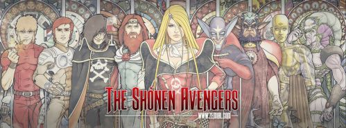 THE SHONEN AVENGERS (Gallery_1) by ZeMiaL-OnLine