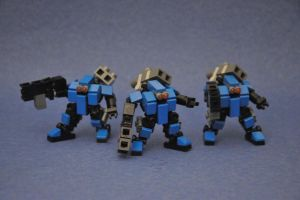 7th HOU:ND Alpha - Hoplite Soldiers by MittenNinja