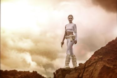 Star Wars Padme - Attack of Clones by andrewhitc