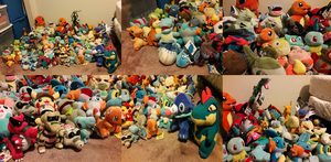 ALL MY POKEMON PLUSHIES UPDATE #8