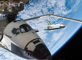 Endeavour and Buran joint ops by Eurylade