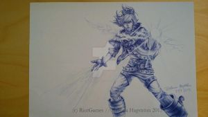 Frosted Ezreal by TheUglyBlowfly