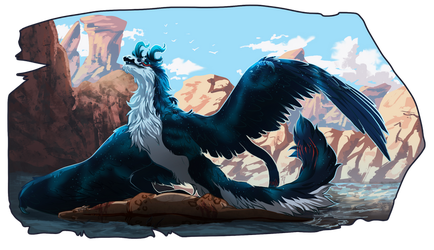 SB|A Beautiful Day For A Hunt | For cryptid-horror by ShinShinju