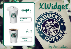 Starbucks Recycle for XWidget by AnitaLec