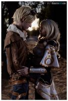 Lux and Ezreal - League of Legends by NunnallyLol
