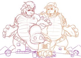 Bowser Bros 2 by LicosAragon by Drivergamer127