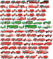 Acre county fire apparatus roster by MisterPSYCHOPATH3001