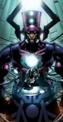 All hail Galactus - color commish