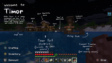 MINECRAFT. Timor Town is Born by CoffeeAddictedDragon