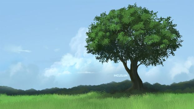 Tree by mclelun