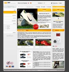 BNR Store Template. by binth