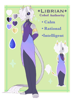 Librian [Cohol Authority] by CosmicCloudberry