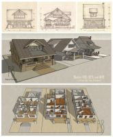 Three Classic Craftsman Bungalows by Built4ever