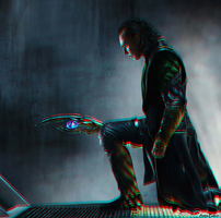 The Avengers Loki Tom Hiddleston 3D conversion #2 by AnnaBaker