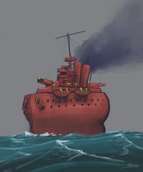 Dreads: Warship 1 by StugMeister