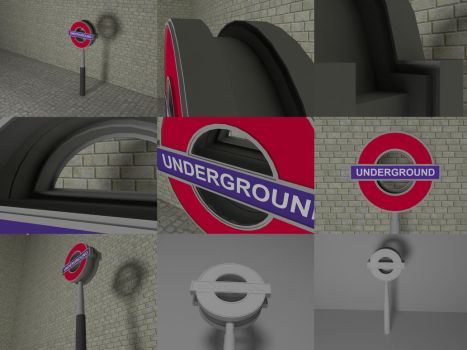 London Underground by OceansCurse
